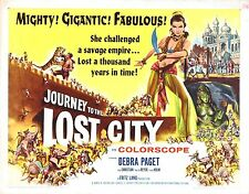 JOURNEY TO THE LOST CITY Movie Poster RARE Fantasy Indiana Jones