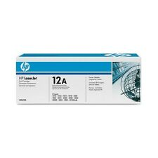 Genuine HP Q2612A / 12A Black Laser Toner Cartridge for Printers
