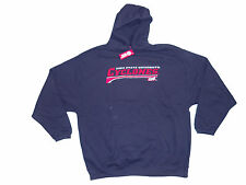 IOWA STATE CYCLONES ADULT NAVY EMBROIDERED HOODED SWEATSHIRT NWT