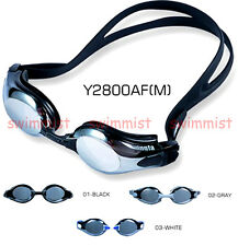 YINGFA Y2800AFM SWIMMING GOGGLES ANTI-FOG UV PROTECTION BLACK GRAY WHITE CLASSIC