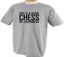 KIDS Chess Life's A Game Chess Playing T-Shirt
