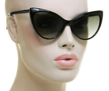 "Womens Designer Cat Eye ""Nikita Sunglasses"" Oversized Hot Celebrity Ford Style"