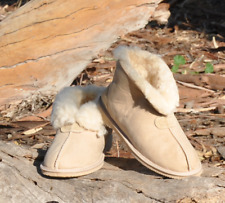 Slippers - Scuffs Womens Genuine Australian Made Sheepskin Ladies Scuffs