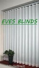Premium Quality White Vertical Blinds Made to Measure 89mm New