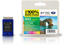 Remanufactured Jettec HP22 Tri-Colour Ink Cartridge for Deskjet F2128 & more