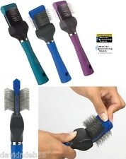 Master Grooming Tools PRO Single Wide FLEXIBLE PET SLICKER Mat Breaker BRUSH OUT