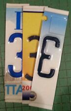 License Plate Number - Great for CRAFTS, SIGNS, CLOCKS, ADDRESSES, BIRTHDATES