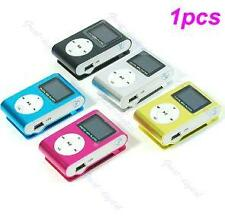 Mini USB Clip MP3 Player LCD Screen Support Up To 16GB TF Card Micro SD 5 Colors