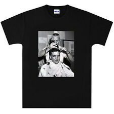 Elvis Presley Army Barber Shop Haircut T Shirt New Black or White