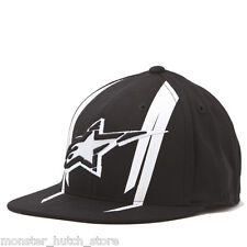 BRAND NEW WITH TAGS Alpinestars OFFICIAL 210 Flexfit Hat BLACK S/M L/XL LIMITED