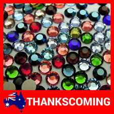 SWAROVSKI Crystal MANY COLOR 2028 / 2058 Flatback Rhinestones 100 PCS 4mm Foiled
