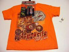 Rudeboyz Quadmonster Dino Trasher T-Shirt with Toy Youth Boys Medium  or Large