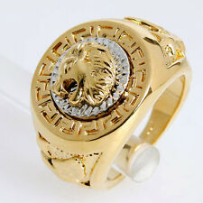 New Style 18k Gold Plated Fashion Lion Ring 93428 Free Shipping