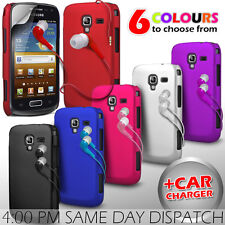 HARD BACK PROTECTIVE CASE COVER, EARPHONE & SP FOR SAMSUNG GALAXY ACE 2 I8160