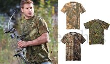 Russell Outdoors Mossy Oak Realtree Mens S-3XL 100% Cotton Pocket Camo T-shirts