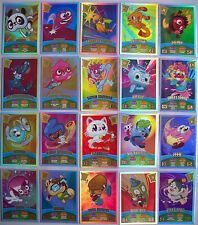 198  217 Any MOSHI MONSTERS Mash Up Series 3 CODE BREAKERS RAINBOW 100 FOIL Card