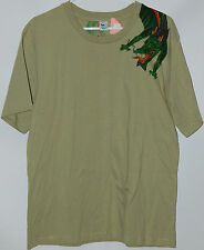 Chinese Dragon Over the Shoulder green T Shirt tee designed by Valentine Bali