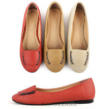 Womens Shoes Flats Ballet Oxfords Loafers Needle Espadrilles Slip-on US 5.5-8.5