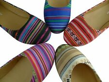 Multi Color Women Flat Shoes Comfort Design New Rainbow Cute Fashion Style
