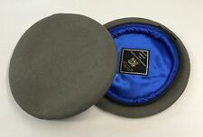 Royal Scots Dragoon Guards Beret -Silk Lined Small Crown - British Army/Military
