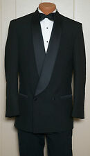 Men's Double Breasted Shawl Tuxedo Dinner Jacket - All Sizes