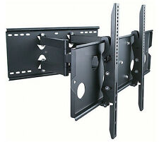 "Full Motion Dual Arm Wall Mount Bracket Fits/For 32-60"" LED, LCD,Plasma Flat TV"