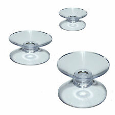 Pkt of 4 DOUBLE Suction Cups Choose  20, 30 & 37 mm or 1 of each + FREE UK P&P