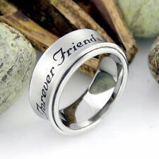 Spinner Ring Forever Friends Purity Ring Promise Best Friend Gift Infinity Ring