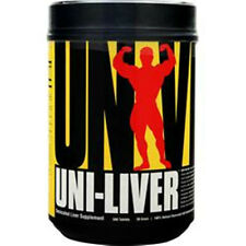 UNIVERSAL NUTRITION Uni-Liver in 250 & 500 tabs better quality saves u more