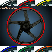 [10~19 inch] MOTORCYCLE RIM STRIPE WHEEL DECAL TAPE REFLECTION STICKER