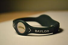 Baylor Bears Sic 'em BU College Sports Power Bracelet Wristband Band NIB Green
