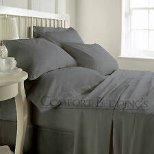 New Hotel Brand Grey 1000TC Bedding Set 100%Egyptian Cotton In ALL US Size