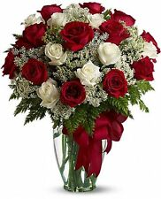 Love's Divine Bouquet - Long Stemmed Red Roses - Flower Delivery by Florist