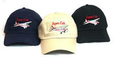 Piper Super Cub Aircraft Embroidered Navy  Hat PA-18