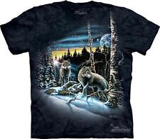 FIND 13 WOLVES 10-3449 TEE SHIRT New With Tags THE MOUNTAIN TEES SIZES SM-3XL