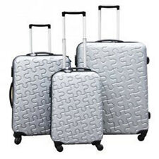 JLY Jigsaw Hard Shell ABS Trolley Case Super Lightweight  3 Piece Set 4 Wheeler