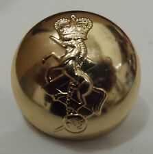 Used REME Button, 30L, 40L, 19mm, 25mm, Gold, Army, Military, Engineers, Royal