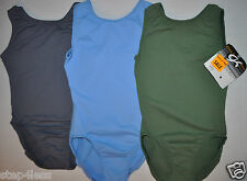 GK Elite adult XS or small-  olive green  Gymnastic  stock practice  Leotard-