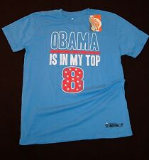 Obama is in my Top 8 Myspace Licensed NWT NEW Political Humor Novelty Gift Blue