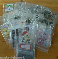 Clear Stamp - Different Occations - Christmas - Easter - Birthday - Cardmaking
