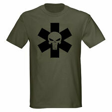 PUNISH STAR LIFE MEDIC PARAMEDIC EMT EMS NURSE T-SHIRT