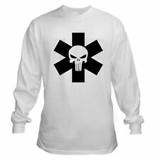 PUNISH STAR LIFE MEDIC PARAMEDIC EMT EMS PARA NURSE RN R/N LONG SLEEVE T-SHIRT