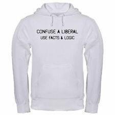 CONFUSE LIBERAL USE FACTS & LOGIC REPUBLICAN TEA PARTY CONSERVATIVE hoodie hoody