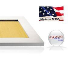 Elegant Satin White Finish Picture Poster Photo FRAME  Wood Composite 11 in WIDE