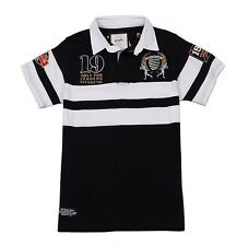 KEVINGSTON VINTAGE NEW ZEALAND NO.19 RUGBY POLO JERSEY MULTIPLE SIZE
