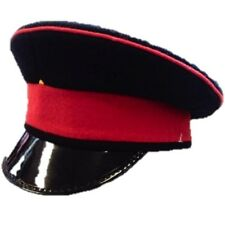 BRITISH ARMY PEAKED HAT NO 2 UNIFORM VISOR MILITARY FANCY DRESS ROYALS VINTAGE