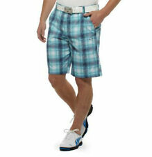 PUMA Golf Rickie Fowler Mens 2013 Ombre Tech Plaid Bermudas Shorts NWT pick size