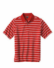 Ping MUNI P3 Performance Mens Polo Golf Shirt NWT Red w/Stripes   pick your size