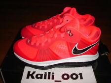 Nike Air Zoom Lebron 8 V/2 Low Solar Red A