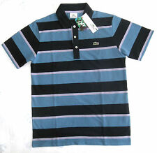LACOSTE Cool Plus Fiber Men's Striped Pique Polo Multi Size  -- DH6710-00